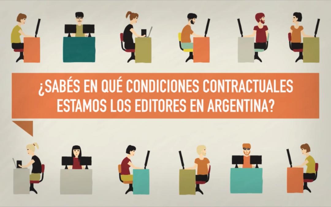 Editores y contrato de trabajo