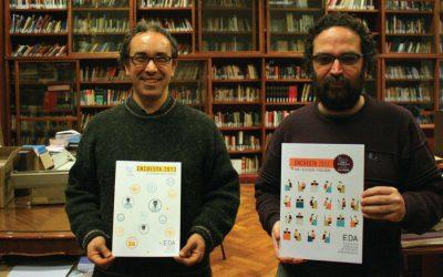 Encuesta 2013 en la Biblioteca de la ENERC