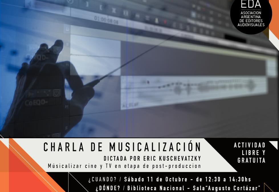 Charla de Musicalización || Sábado 11 de Octubre