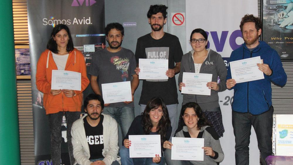 Finalizó el segundo curso de Avid Media Composer en SVC