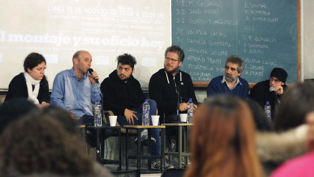 Workshop en la Bienal FADU: «El montaje y su oficio hoy»