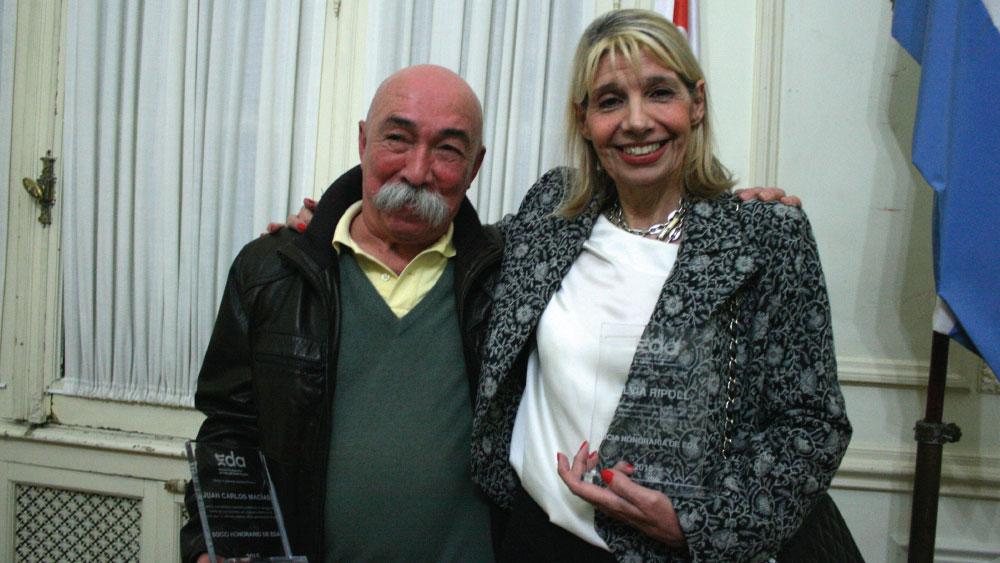 Socios Honorarios de EDA / 2015