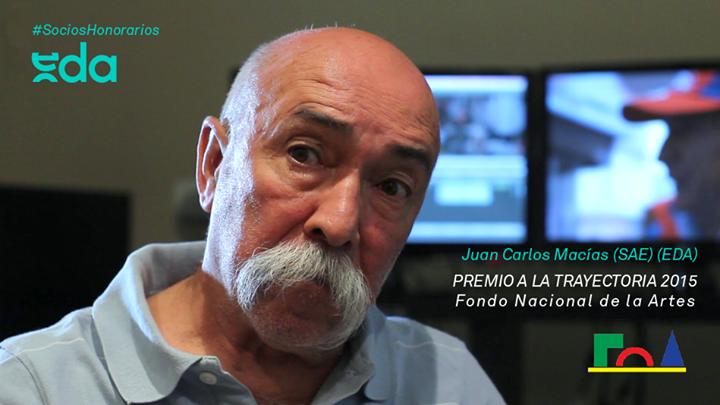 Juan Carlos Macías (SAE) (EDA) recibe el Premio a la Trayectoria Artística 2015