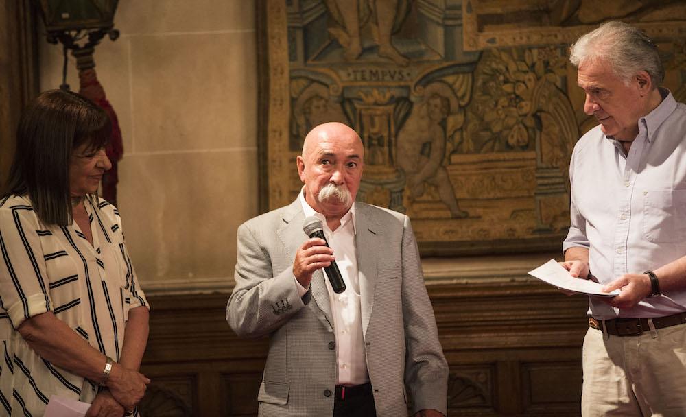 Juan Carlos Macías (SAE) (EDA) recibió el Premio a la trayectoria del FNA