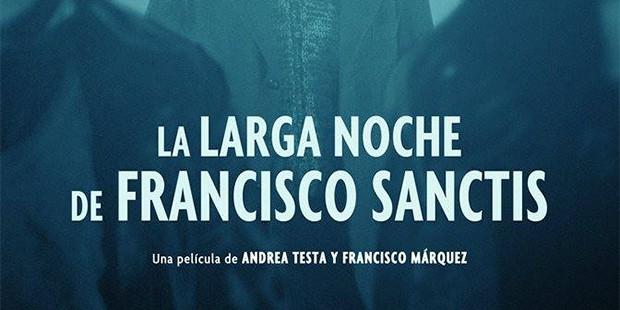 El montaje de «La larga noche de Francisco Sanctis»