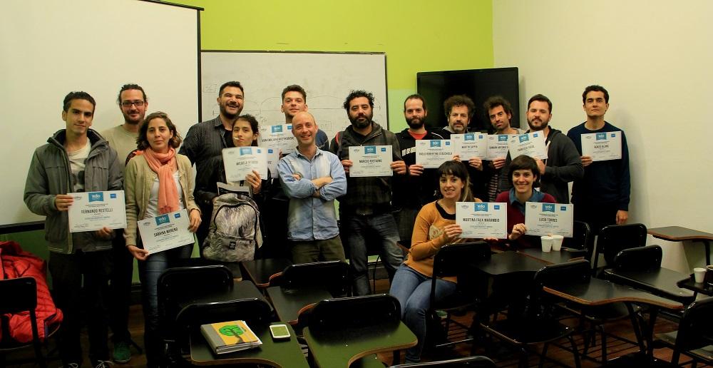 Finalizó con éxito la primera edición del Curso de Estructura Dramática y Montaje en la ciudad Córdoba