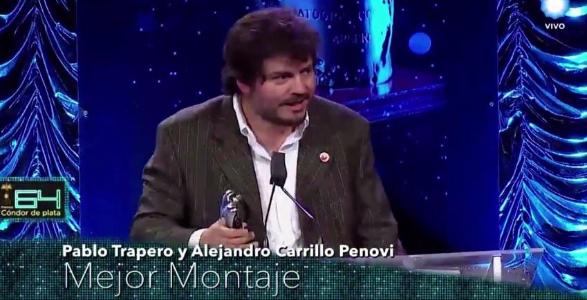 Alejandro Carrillo Penovi (SAE) y Pablo Trapero obtuvieron el Condor de Plata a Mejor Montaje