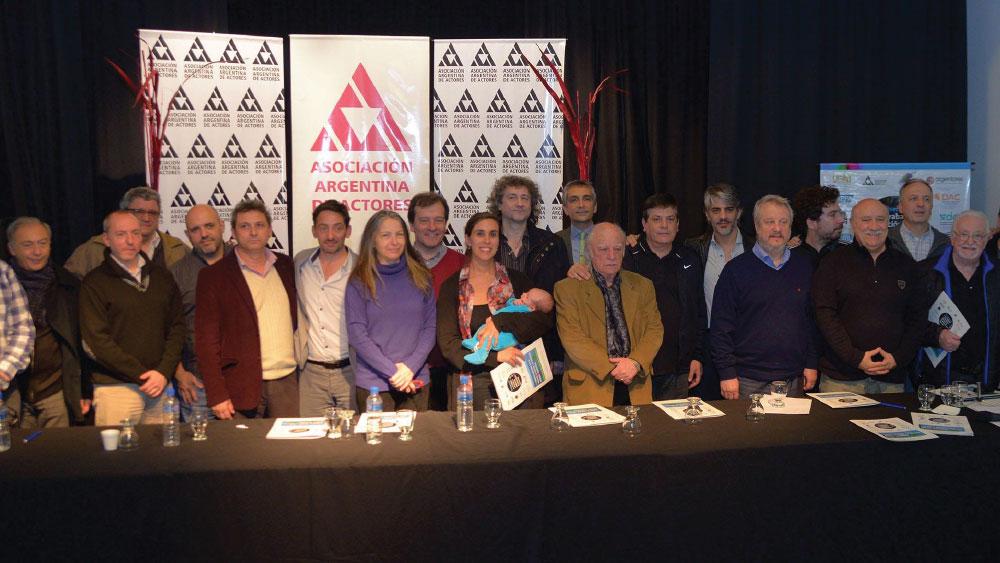 La Multisectorial Audiovisual selló su compromiso/ firma del Acta Constitutiva