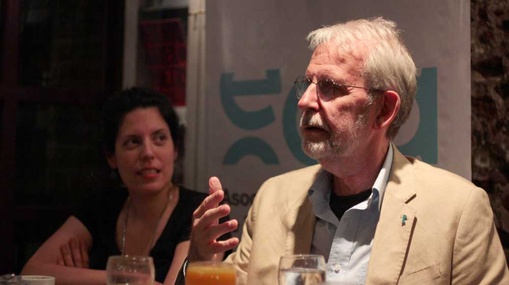 Encuentro de la comisión directiva de EDA con Walter Murch