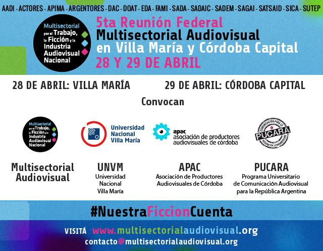 5° Reunión Federal Multisectorial Audiovisual