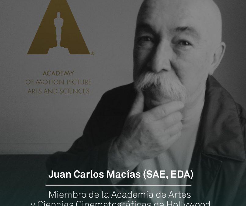 Juan Carlos Macías (SAE, EDA) es nuevo miembro de la Academia de Hollywood