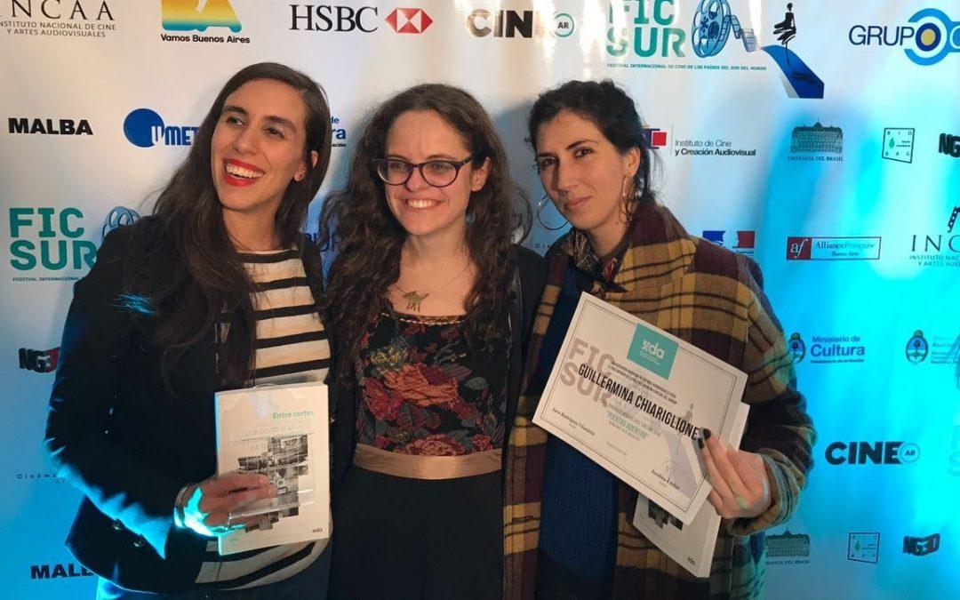 Anabela Lattanzio (EDA) ganó el premio a Mejor Montaje de Cortos en FICSUR