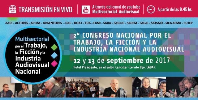 Programa del 2° Congreso Multisectorial Audiovisual