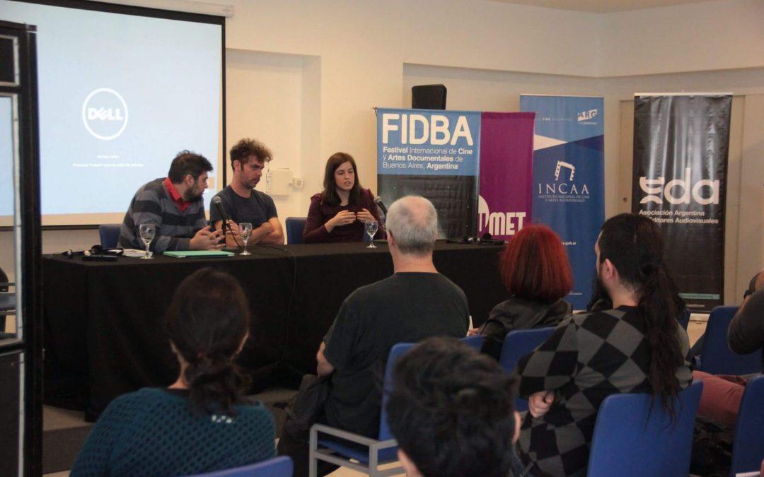Charla «La edición en el cine documental» en el FIDBA