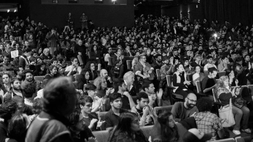 Se realizó una multitudinaria Asamblea de la comunidad audiovisual