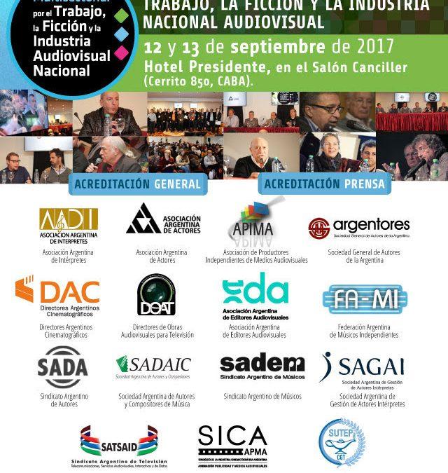 2° Congreso Nacional de la Multisectorial Audiovisual